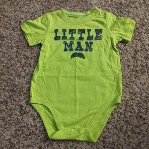18M, Little Man, Onsie, Bodysuit, Jumping Beans